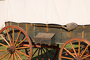 Connestoga wagon, Sutter's Fort State Historic Park, Sacramento, California