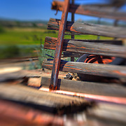 Truck Bed Wood Enclosure - Motor Transport Museum - Campo, CA - Lensbaby