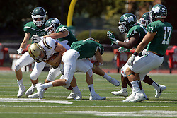 09 September 2017:   during an NCAA division 3 football game between the Nebraska Wesleyan PRAIRIE WOLVES and the Illinois Wesleyan Titans in Tucci Stadium on Wilder Field, Bloomington IL