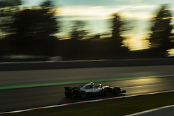 March 9, 2018 - Barcelona, Catalonia, Spain - 77 Valtteri Bottas from Finland Mercedes W09 Hybrid EQ Power+ team Mercedes GP during day four of F1 Winter Testing at Circuit de Catalunya on March 9, 2018 in Montmelo, Spain. (Credit Image: © Xavier Bonilla/NurPhoto via ZUMA Press)