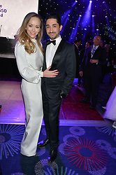 TAMARA RALPH and MICHAEL RUSSO at The Butterfly Ball in aid of Caudwell Children held at the Grosvenor House, Park Lane, London on 25th June 2015