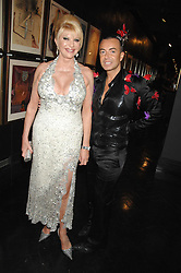IVANA TRUMP and JULIEN MACDONALD at Andy & Patti Wong's Chinese new Year party held at County Hall and Dali Universe, London on 26th January 2008.<br /><br />NON EXCLUSIVE - WORLD RIGHTS (EMBARGOED FOR PUBLICATION IN UK MAGAZINES UNTIL 1 MONTH AFTER CREATE DATE AND TIME) www.donfeatures.com  +44 (0) 7092 235465