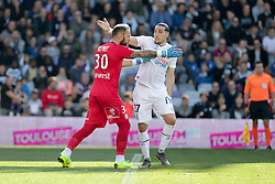February 24, 2019 - Toulouse, France - 27 ENZO CRIVELLI (CAEN) - COLERE - ALTERCATION (Credit Image: © Panoramic via ZUMA Press)