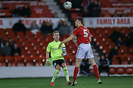 \Brighton U18 Jordan Maguire-Drew  during the FA Youth Cup match between U18 Nottingham Forest and U18 Brighton at the City Ground, Nottingham, England on 10 December 2015. Photo by Simon Davies.
