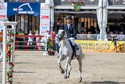NIEBERG Gerrit (GER), CONTAGIO<br /> Münster - Turnier der Sieger 2019<br /> MARKTKAUF - CUP<br /> BEMER-Riders Tour - Qualifier for the rating competition (comp no 11)  - Stechen<br /> CSI4* - Int. Jumping competition with jump-off (1.50 m) - Large Tour<br /> 03. August 2019<br /> © www.sportfotos-lafrentz.de/Stefan Lafrentz