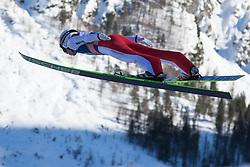 22.03.2013, Planica, Kranjska Gora, SLO, FIS Ski Sprung Weltcup, Skifliegen, 1. Wertungsdurchgang, im Bild Stefan Kraft (AUT) // Stefan Kraft of Austria in action during 1st round of the FIS Skijumping Worldcup Individual Flying Hill, Planica, Kranjska Gora, Slovenia on 2013/03/22. EXPA Pictures © 2012, PhotoCredit: EXPA/ Johann Groder