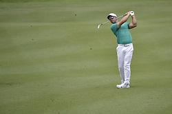 October 12, 2018 - Kuala Lumpur, Malaysia - Paul Casey of England hits a shot during the second round of 2018 CIMB Classic golf tournament in Kuala Lumpur, Malaysia on October 12, 2018. (Credit Image: © Zahim Mohd/NurPhoto via ZUMA Press)