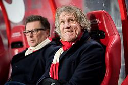 coach Gertjan Gert Jan Verbeek of FC Twente during the Dutch Eredivisie match between FC Twente Enschede and Vitesse Arnhem at the Grolsch Veste on December 16, 2017 in Enschede, The Netherlands