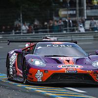 #85, Keating Motorsport, Ford GT, LMGTE Am, driven by: Ben Keating, Jeroen Bleekemolen, Felipe Fraga on 15/06/2019 at the Le Mans 24H 2019