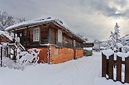 Old house in a Bulgarian village Brashlyan