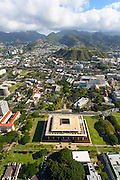 State Capitol Building, Downtown Honolulu, Oahu, Hawaii