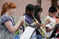 Middletown, New York - Students from Twin Towers Middle School perform at the festival following the 15th annual Ruthie Dino Marshall 5K Run and Fun Walk hosted by the Middletown YMCA on Sunday, June 5, 2011.