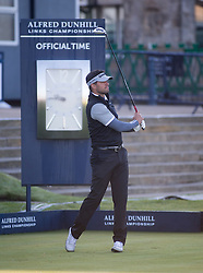 Michael Ballack. Alfred Dunhill Links Championship this morning at St Andrews.
