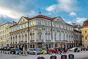 Pałac Wesslów (Pałac Ostrowskich, Poczta Saska), Warszawa, Polska<br /> Wessel Palace (Ostrowski Palace, Saska Post), Warsaw, Poland