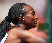 HELLEN OBIRI (KEN) after winning the Womens 1500m competition with a time of 3:58:58 during the second day of the Diamond League event Prefontaine Classic held at the University of Oregons Hayward Field.The Prefontaine Classic is named for University of Oregon track legend Steve Prefontaine. Kynard finished second in the event.