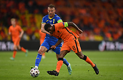 AMSTERDAM, NETHERLANDS - JUNE 13:  during the UEFA Euro 2020 Championship Group C match between Netherlands and Ukraine at the Johan Cruijff ArenA on June 13, 2021 in Amsterdam, Netherlands. (Photo by Lukas Schulze - UEFA)