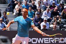 May 16, 2019 - Roma, Italia - Foto Alfredo Falcone - LaPresse.16/05/2019 Roma ( Italia).Sport Tennis.Internazionali BNL d'Italia 2019.Rafael Nadal (esp) vs Jeremy Chardy (fra).Nella foto:Rafael Nadal..Photo Alfredo Falcone - LaPresse.16/05/2019 Roma (Italy).Sport Tennis.Internazionali BNL d'Italia 2019.Rafael Nadal (esp) vs Jeremy Chardy (fra).In the pic:Rafael Nadal (Credit Image: © Alfredo Falcone/Lapresse via ZUMA Press)