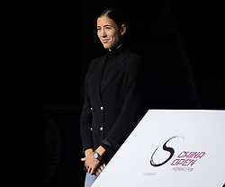 September 29, 2018 - Garbine Muguruza of Spain during the opening ceremony of the 2018 China Open WTA Premier Mandatory tennis tournament (Credit Image: © AFP7 via ZUMA Wire)