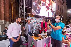LAVARINI STEFANO (ALLENATORE NOVARA)       SUPERCOPPA 2020-2021 PALLAVOLO FEMMINILE <br /> UNET E-WORK BUSTO ARSIZIO - IGOR GORGONZOLA NOVARA<br /> PIAZZA DEI SIGNORI<br /> VICENZA 04-09-2020<br /> FOTO FILIPPO RUBIN