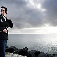 Nederland, Hoorn,29 januari 2007..Politie korpschef Anja Brink.