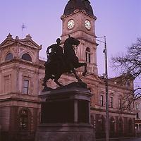 Town Hall & Statue, Ballarat