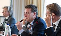 SOESTDUINEN - NGF directeur Jeroen Stevens . Algemene Ledenvergadering van de NGF (Nederlandse Golf Federatie) met bestuurswisseling. COPYRIGHT KOEN SUYK
