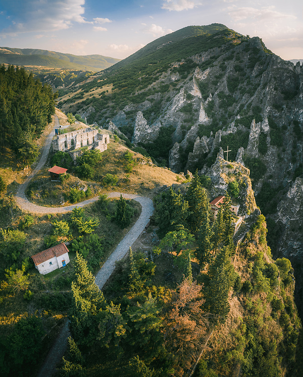 Castle and Canyon of Servia, Greece