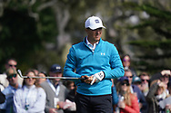 Jordan Spieth (USA) in action during the third round of the AT&T Pro-Am, Pebble Beach, Monterey, California, USA. 07/02/2020<br /> Picture: Golffile | Phil Inglis<br /> <br /> <br /> All photo usage must carry mandatory copyright credit (© Golffile | Phil Inglis)