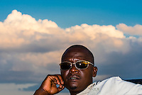 A safari tracker, Kwando Concession, Linyanti Marshes, Botswana.