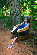 Pathway seating, Chanticleer Gardens, Wayne, PA