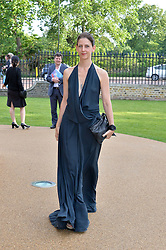 MARIA GRACHVOGEL at a summer drinks party hosted by Bec Astley Clarke at the Serpentine Sackler Gallery, Hyde Park, London on 17th June 2014.