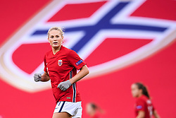 OSLO, NORWAY - Tuesday, September 22, 2020: Norway's Lisa-Marie Karlseng Utland during the UEFA Women's Euro 2022 England Qualifying Round Group C match between Norway Women and Wales Women at the Ullevaal Stadion. Norway won 1-0. (Pic by Vegard Wivestad Grøtt/Propaganda)