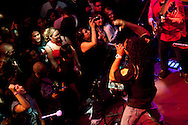 Cumbia Tokeson performed at Oakland's The New Parish in May 2011 with headliner Bomba Estereo.