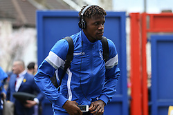 Wilfried Zaha of Crystal Palace arrives at Selhurst Park - Mandatory by-line: Jason Brown/JMP - 18/03/2017 - FOOTBALL - Selhurst Park - London, England - Crystal Palace v Watford - Premier League