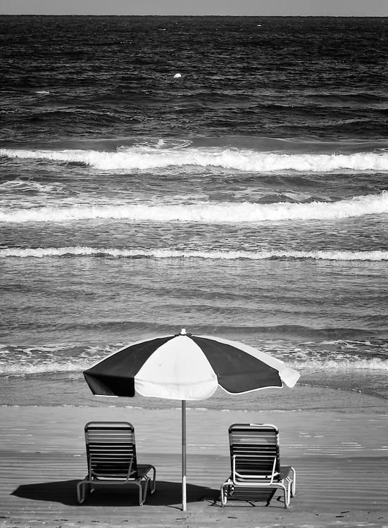 Relaxing day at Daytona Beach.