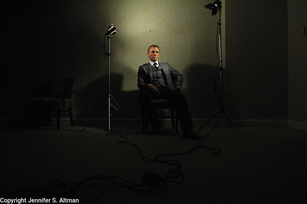 Actor Daniel Craig is seen at the Regency Hotel in Manhattan, NY. Craig is the new James Bond in the movie Casino Royale. 11/5/2006 Photo by Jennifer S. Altman/For The Times