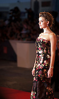 Actress Amber Heard<br /> at the gala screening for the film The Danish Girl  at the 72nd Venice Film Festival, Saturday September 5th 2015, Venice Lido, Italy.