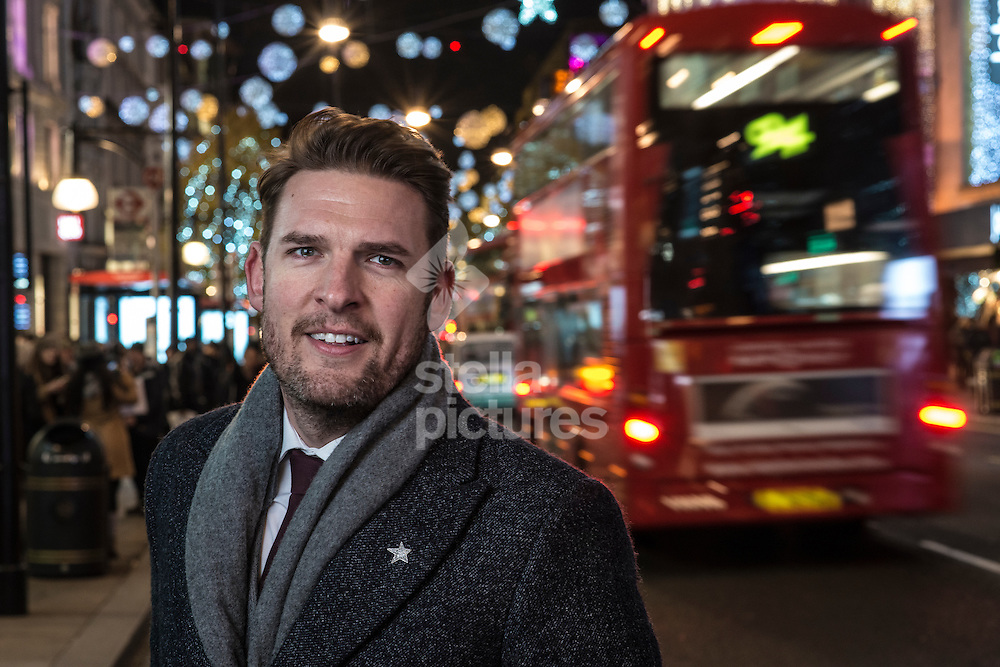 Steven Medway, New West End Company Managing Director ofTrading Environmental pictured on Oxford Street, London. <br /> Picture by Daniel Hambury/Stella Pictures Ltd +44 7813 022858<br /> 28/11/2016