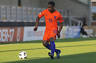 Jurri?n Maduro of Netherlands (15) during the UEFA European Under 17 Championship 2018 match between Netherlands and Spain at the Pirelli Stadium, Burton upon Trent, England on 8 May 2018. Picture by Mick Haynes.