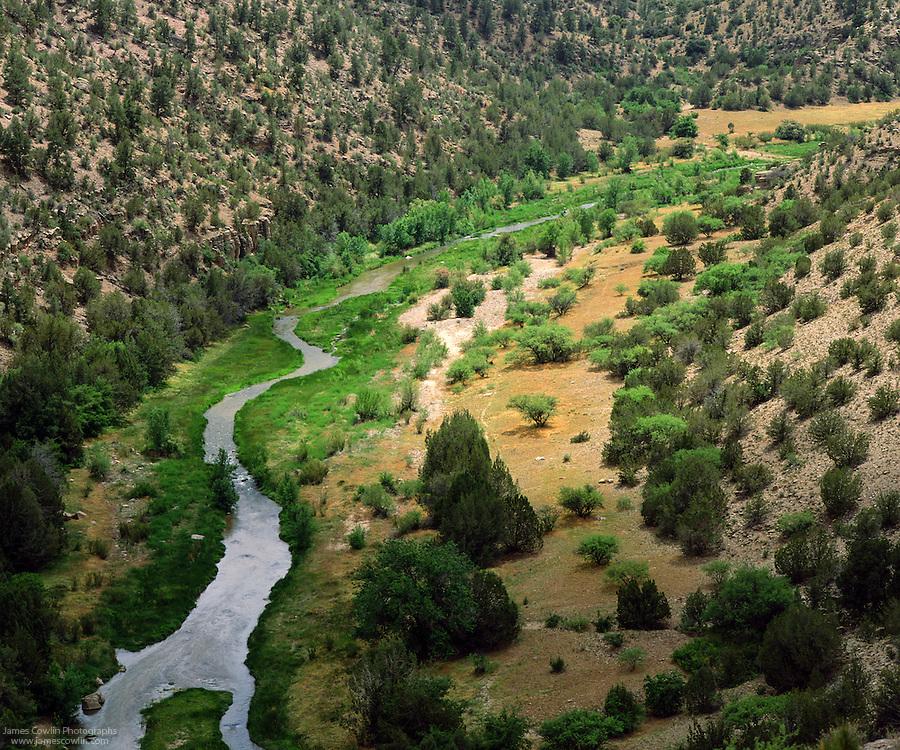 Verde River in central Arizona