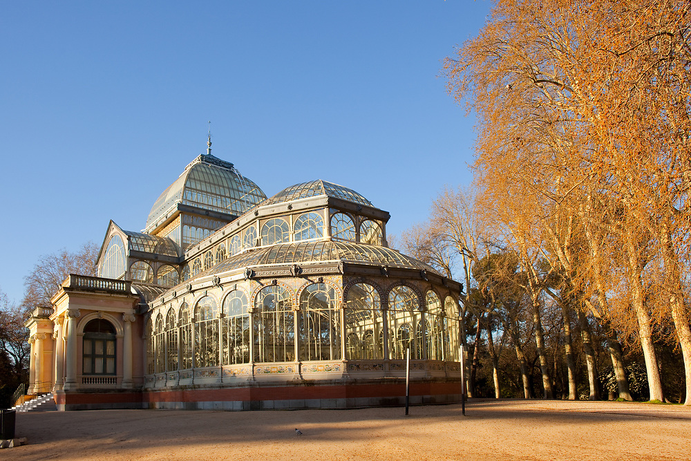 Crystal Palace, Retiro Park (Parque El Retiro), Madrid, Spain