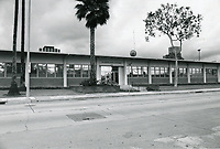 1977 Temporary police station on Fountain Ave.