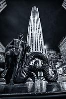 """Youth"" Mankind Figure Statue, Rockefeller Center"