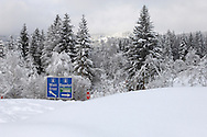 Heavy snow on the Austrian motorway .<br /> <br /> Visit our AUSTRIA PHOTO COLLECTIONS for more photos to download or buy as wall art prints https://funkystock.photoshelter.com/gallery-collection/Pictures-Images-of-Austria-Photos-of-Austrian-Historic-Landmark-Sites/C0000VRQ9JIAzOxc
