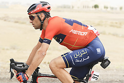 March 1, 2019 - Dubai, Emirati Arabi Uniti - Foto LaPresse - Fabio Ferrari.01 Marzo 2019 Dubai (Emirati Arabi Uniti).Sport Ciclismo.UAE Tour 2019 - Tappa 6 - da Ajman a Jebel Jais - 180 km.Nella foto:NIBALI Vincenzo (ITA)BAHRAIN - MERIDA.Photo LaPresse - Fabio Ferrari.March 01, 2019 Dubai (United Arab Emirates) .Sport Cycling.UAE Tour 2019 - Stage 6 - From Ajman To Jebel Jais  - 112 miles..In the pic: NIBALI Vincenzo (ITA)BAHRAIN - MERIDA (Credit Image: © Fabio Ferrari/Lapresse via ZUMA Press)