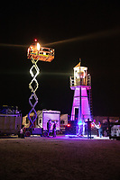 I ran into these guys at the Grand Sierra in Reno while walking the dogs. They had like a fleet of 6 big fifth wheels and a full size semi truck with a forklift, and  this scissor lift on it. Some burners really go hard. I can't remember the name of their crew. My Burning Man 2018 Photos:<br /> https://Duncan.co/Burning-Man-2018<br /> <br /> My Burning Man 2017 Photos:<br /> https://Duncan.co/Burning-Man-2017<br /> <br /> My Burning Man 2016 Photos:<br /> https://Duncan.co/Burning-Man-2016<br /> <br /> My Burning Man 2015 Photos:<br /> https://Duncan.co/Burning-Man-2015<br /> <br /> My Burning Man 2014 Photos:<br /> https://Duncan.co/Burning-Man-2014<br /> <br /> My Burning Man 2013 Photos:<br /> https://Duncan.co/Burning-Man-2013<br /> <br /> My Burning Man 2012 Photos:<br /> https://Duncan.co/Burning-Man-2012