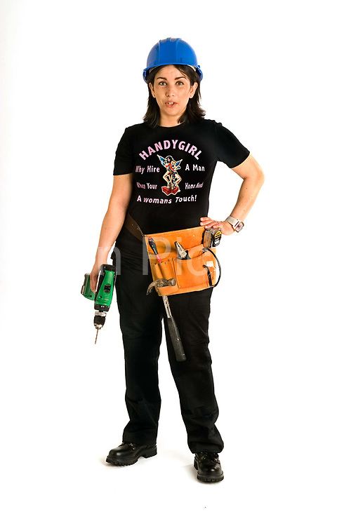 Self-taught handygirl Hafida Sarachi, 34, lives in Wiltshire.<br /> She set up Handygirl in April 2006<br /> I bought all the necessary tools from DIY stores and taught myself how to refurbish my home. I soon discovered I had a flair for it.