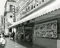 1960 Hollywood Market on NE corner of Hollywood Blvd. & Whitley Ave.
