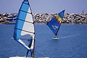 Wind Surfing Dana Point Harbor 1982