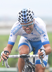 September 15, 2017 - Chenghu City, United States - Christopher Williams from Team Novo Nordisk during the fourth stage of the 2017 Tour of China 1, the 3.3 km Chenghu Jintang individual time trial. .On Friday, 15 September 2017, in Jintang County, Chenghu City,  Sichuan Province, China. (Credit Image: © Artur Widak/NurPhoto via ZUMA Press)